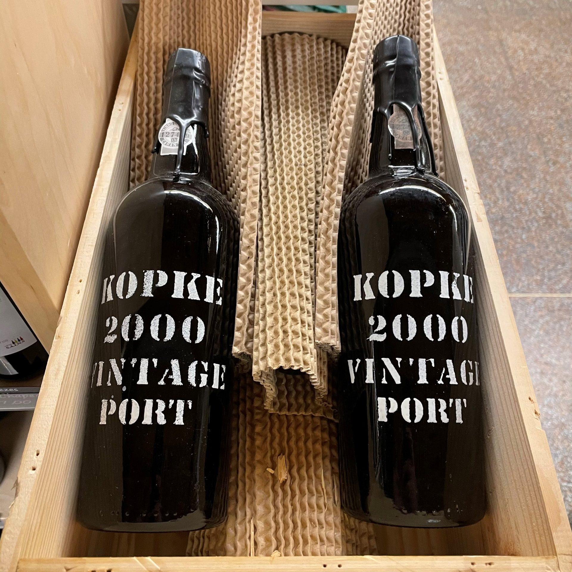 kopke vintage 2000
